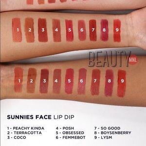 Makeup - Sunnies Face Lip Dip in Peachy Kinda